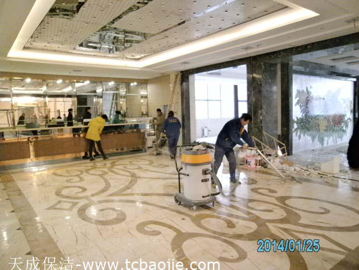 半岛酒店 石材翻新